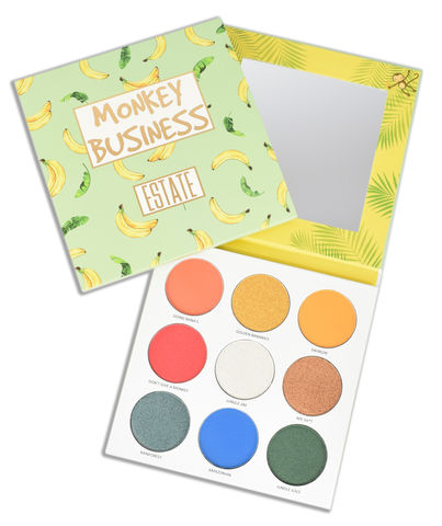 Image of Monkey Business Eyeshadow Collection - Estate Cosmetics Cruelty Free and Vegan