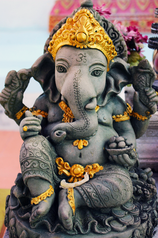 I took a break out of my busy-ness and found Ganesha