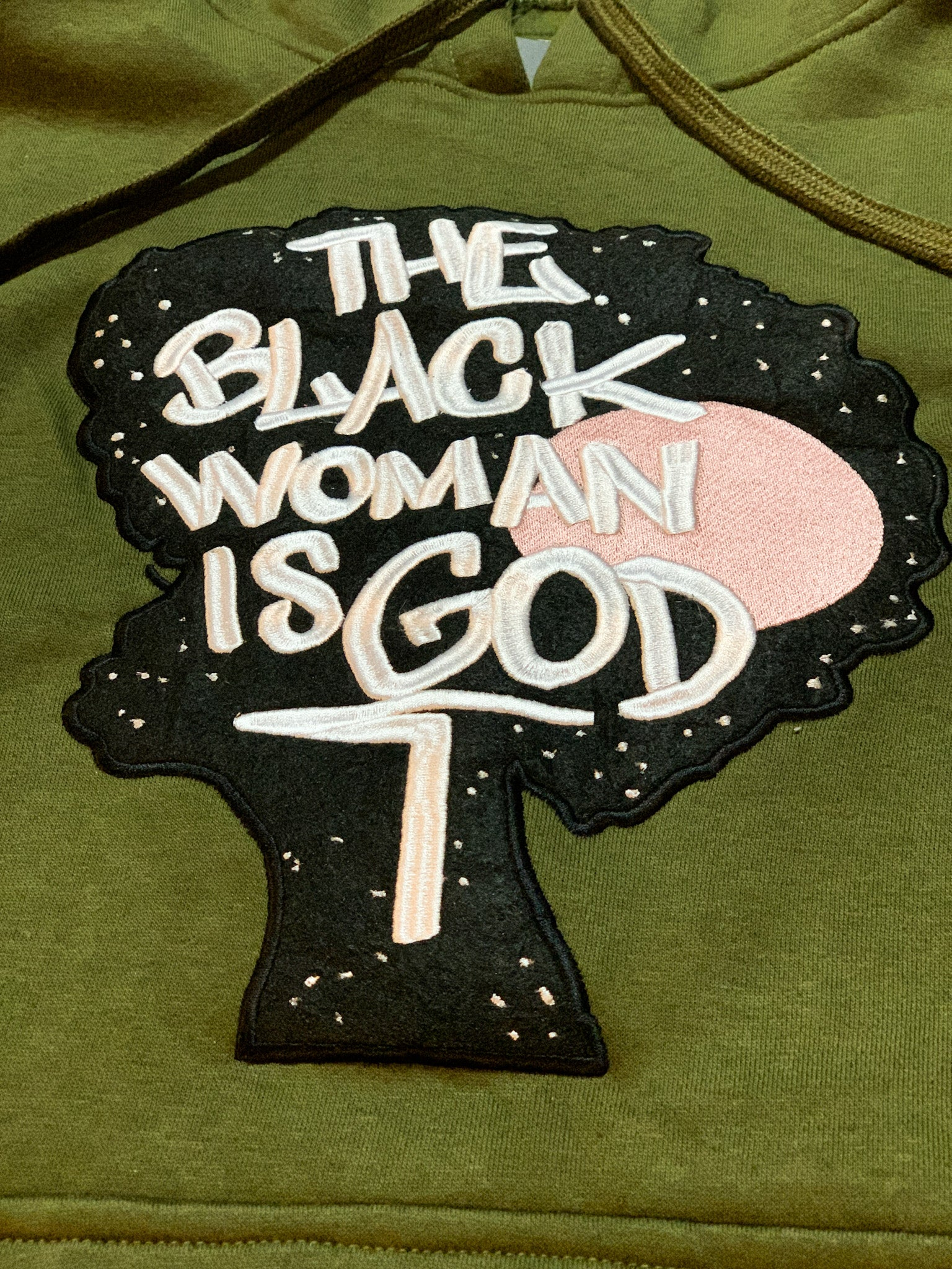 Black Woman Is God Hoodie