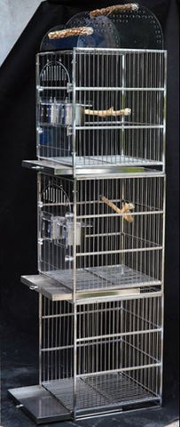 Stackable Stainless Steel Cage (Pre-order)