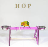 Acrylic Sand Perch Table Stand