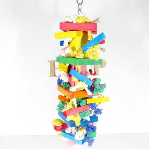 Colourful Wooden Blocks Toy