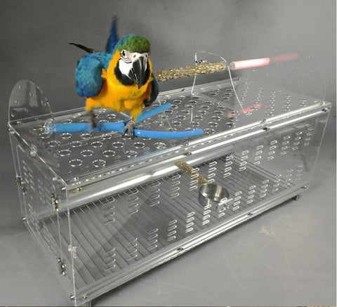 Acrylic Macaw Carrier (Pre-order)