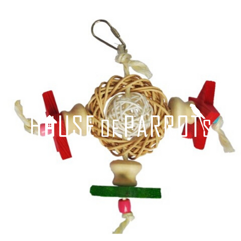 Wooden Rattan Toy
