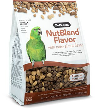 Zupreem NutBlend® Flavor with Natural Nut Flavors PARROTS & CONURES