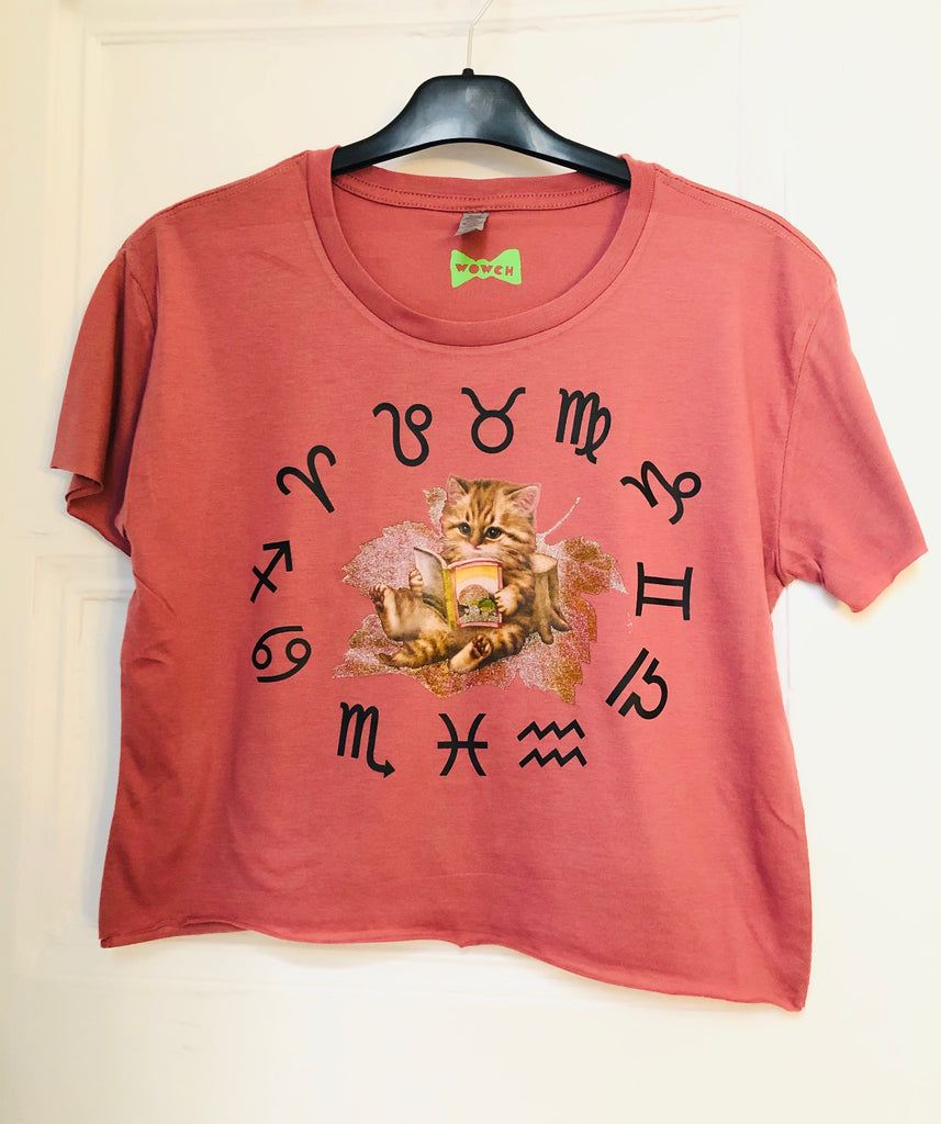 ZODIACAT Limited Edition Crop Shirt