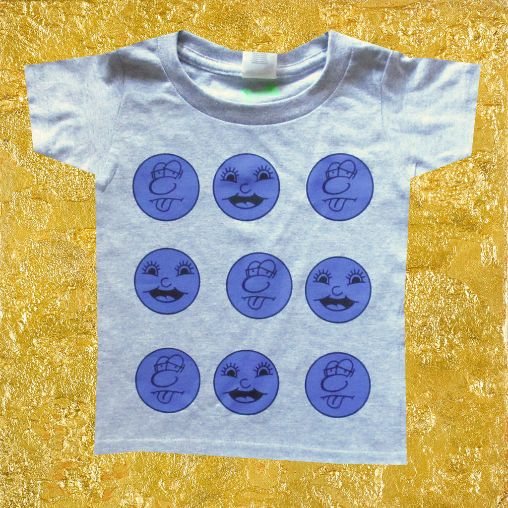 2 FACE Toddler Tee
