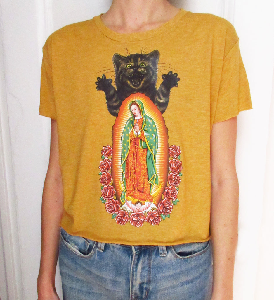 SCARY MARY Limited Edition Crop Shirt