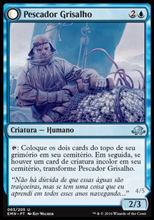 Pescador Grisalho / Grizzled Angler-Magic: The Gathering-MoxLand