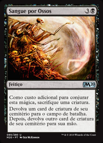 Sangue por Ossos / Blood for Bones-Magic: The Gathering-MoxLand