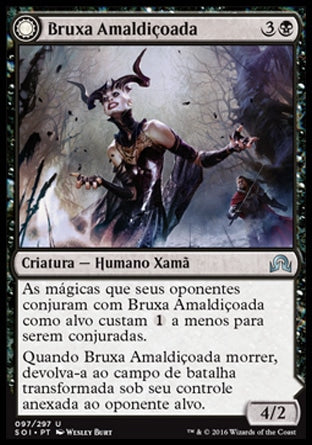 Bruxa Amaldiçoada / Accursed Witch-Magic: The Gathering-MoxLand