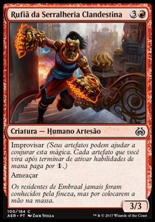 Rufiã da Serralheria Clandestina / Sweatworks Brawler-Magic: The Gathering-MoxLand