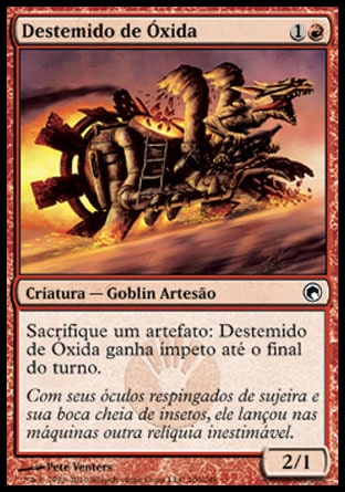 Destemido de Óxida / Oxidda Daredevil-Magic: The Gathering-MoxLand