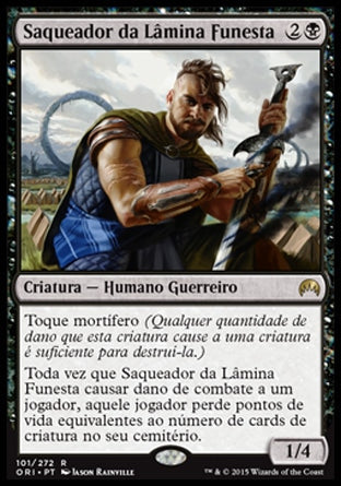Saqueador da Lâmina Funesta / Graveblade Marauder-Magic: The Gathering-MoxLand