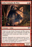Lobo Coração de Pira / Pyreheart Wolf-Magic: The Gathering-MoxLand
