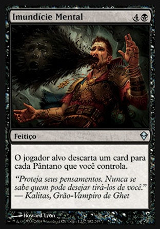 Imundície Mental / Mind Sludge-Magic: The Gathering-MoxLand