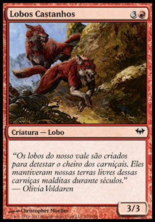 Lobos Castanhos / Russet Wolves-Magic: The Gathering-MoxLand