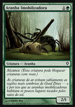 Aranha Imobilizadora / Grappler Spider-Magic: The Gathering-MoxLand