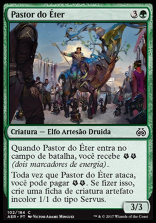 Pastor do Éter / Aether Herder-Magic: The Gathering-MoxLand