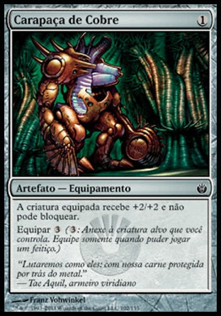 Carapaça de Cobre / Copper Carapace-Magic: The Gathering-MoxLand