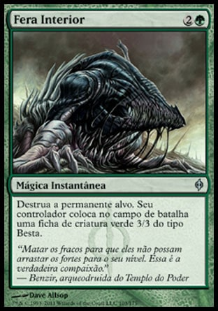 Fera Interior / Beast Within-Magic: The Gathering-MoxLand