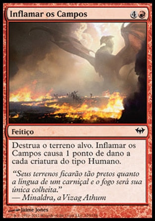 Inflamar os Campos / Scorch the Fields-Magic: The Gathering-MoxLand