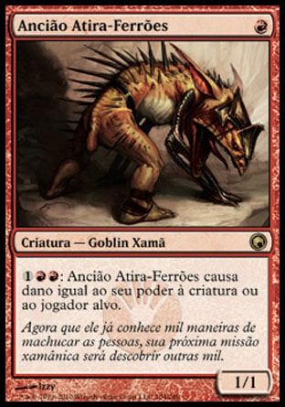 Ancião Atira-Ferrões / Spikeshot Elder-Magic: The Gathering-MoxLand