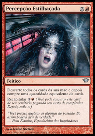 Percepção Estilhaçada / Shattered Perception-Magic: The Gathering-MoxLand