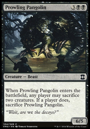 Pangolim Espreitador / Prowling Pangolin-Magic: The Gathering-MoxLand