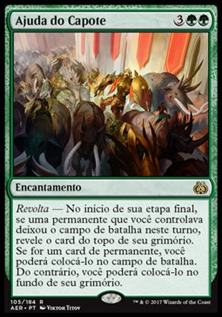Ajuda do Capote / Aid from the Cowl-Magic: The Gathering-MoxLand