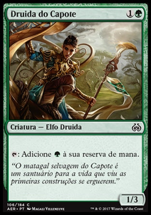 Druida do Capote / Druid of the Cowl-Magic: The Gathering-MoxLand