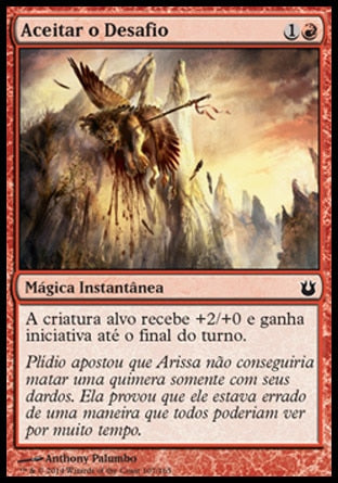 Aceitar o Desafio / Rise to the Challenge-Magic: The Gathering-MoxLand
