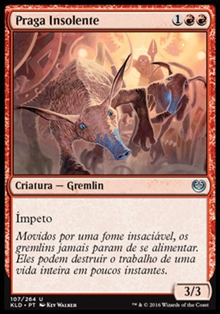 Praga Insolente / Brazen Scourge-Magic: The Gathering-MoxLand
