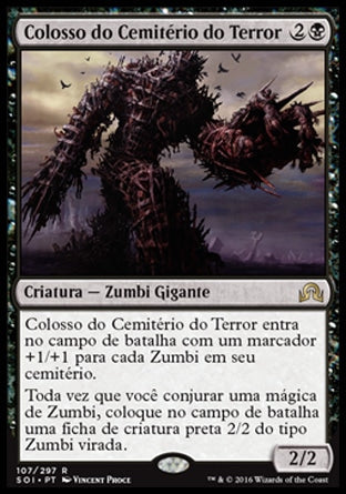 Colosso do Cemitério do Terror / Diregraf Colossus-Magic: The Gathering-MoxLand