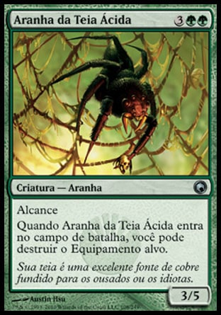 Aranha da Teia Ácida / Acid Web Spider-Magic: The Gathering-MoxLand