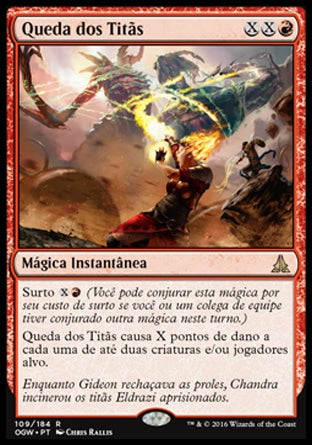 Queda dos Titãs / Fall of the Titans-Magic: The Gathering-MoxLand