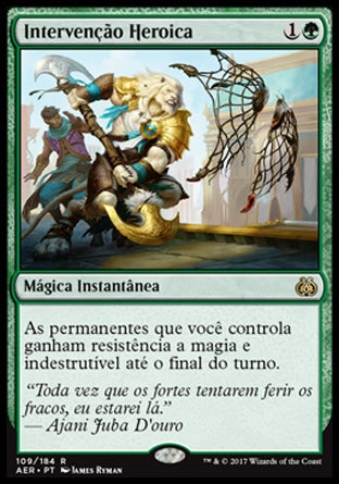 Intervenção Heroica / Heroic Intervention-Magic: The Gathering-MoxLand