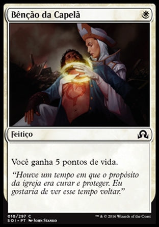 Bênção da Capelã / Chaplain's Blessing-Magic: The Gathering-MoxLand