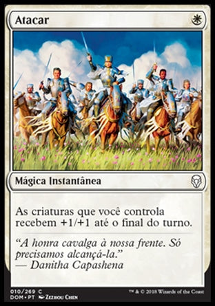 Atacar / Charge-Magic: The Gathering-MoxLand
