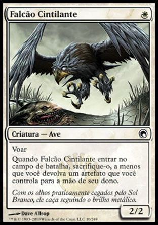Falcão Cintilante / Glint Hawk-Magic: The Gathering-MoxLand