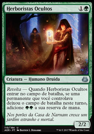 Herboristas Ocultos / Hidden Herbalists-Magic: The Gathering-MoxLand