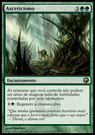 Asceticismo / Asceticism-Magic: The Gathering-MoxLand