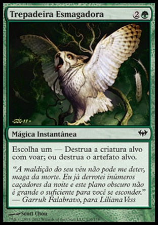 Trepadeira Esmagadora / Crushing Vines-Magic: The Gathering-MoxLand
