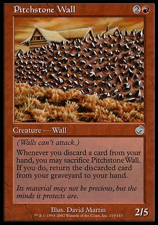 Barreira de Retinita / Pitchstone Wall-Magic: The Gathering-MoxLand