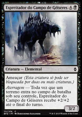 Espreitador do Campo de Gêiseres / Geyserfield Stalker-Magic: The Gathering-MoxLand