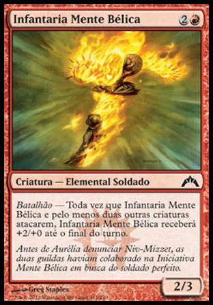 Infantaria Mente Bélica / Warmind Infantry-Magic: The Gathering-MoxLand