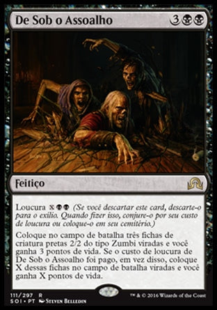 De Sob o Assoalho / From Under the Floorboards-Magic: The Gathering-MoxLand
