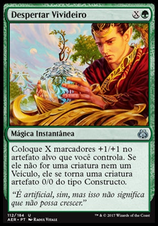 Despertar Vivideiro / Lifecraft Awakening-Magic: The Gathering-MoxLand