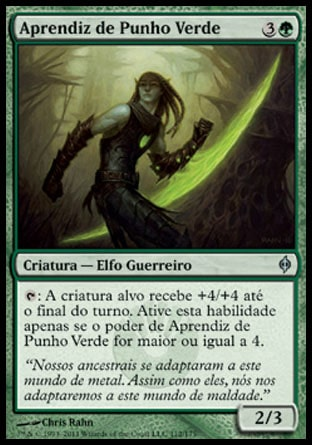 Aprendiz de Punho Verde / Greenhilt Trainee-Magic: The Gathering-MoxLand