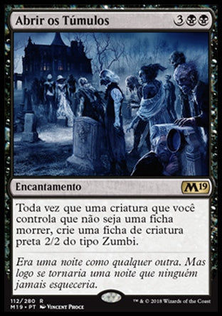Abrir os Túmulos / Open the Graves-Magic: The Gathering-MoxLand